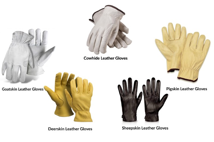 Types of Leather Used for Hand Gloves